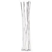 Five Season 70mm Silver Plated Ball Head Pins for Jewellery Making 24 Gauge