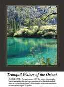 Tranquil Waters of the Orient, Alluring Landscapes Counted Cross Stitch Pattern