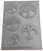 Trees of Life Texture Stamp