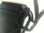 Black Weaved Cord-edge Piping Trim for Clothing Pillows, Lamps, Draperies 10 Yards Pi-129