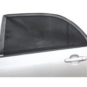 Kumeed 2Pcs Adjustable Car Window Sun Shades UV Protection Shield Mesh Cover Visor Sunshades