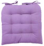 vanki Soft Chair Cushion / Pad - 36cm x 36cm , Light Purple
