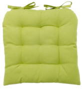 vanki Soft Chair Cushion / Pad - 36cm x 36cm , Green