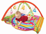 [New Arrival, March 2016] PLS Baby Colourful Play Gym Playmat, Extra Thick, Rattle Toys, Non-toxic