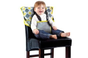 Portable Easy Seat by Cosy Cover - Infant Safety Seat - Charcoal/Yellow