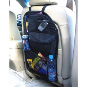 Angree Baby - Must Have Multi-pocket Car Backseat Organiser - Durable Easy to Clean Kick Mat Seat Protection - Organise Travel Essentials and Accessories