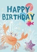 Under the Sea - Happy Birthday Card-Book