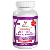 Activa Naturals Adrenal Support Formula Supplement - 120 Veg. Capsules to Support Immune Function
