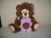 "Singing Plush Violet Bear Sings ""That's What Friends Are For"" with Gift Bag"