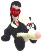 30cm Tail Wigglers Musical Dancing Love Skunk