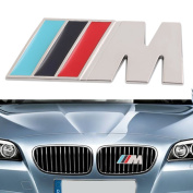 Darpy(TM)Sport Wheel Dashboard Badge 3D Metal Emblem Sticker Decal Logo For BMW New Dropping Shipping
