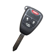 Cybly(TM)New 4 Button Uncut Remote Keyless Key Fob For Chrysler 2005 Jeep Grand Cherokee hot selling