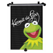 Genuine Disney The Muppets Kermit the Frog Car Sun Shade Roller Window Blind for Kids