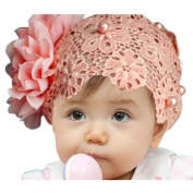 Generic Baby Girls Hairband, Hair Bow Band Accessories Headwear Lace Flower Headband