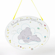 Me To You Tiny Tatty Teddy Baby Hanging Wall Plaque Sweet Dreams Gift