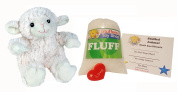 Make Your Own Stuffed Animal Mini 20cm Puffy Lamb Kit - No Sewing Required!