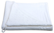 Baby's Only Hooded Bath Towel - White
