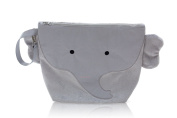 Nikiani Forever Young Collection Wet Bag & Backpack - Pebbles Grey Elephant