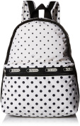 LeSportsac Basic Backpack - SUN MULTI CREAM