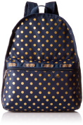 LeSportsac Basic Backpack - SUN MULTI NAVY