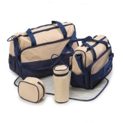 Banner Bonnie Nappy Tote Bag with 2 Bag Insert Organiser Changing Nursing Pad 7 Pieces Set