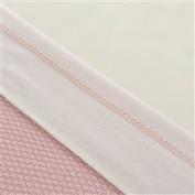 Little Naturals 008 511 64982 Sheet, 75 x 100 cm, Crochet Small Pink