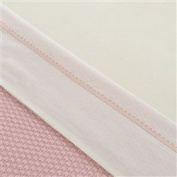 Little Naturals 008 524 64982 Sheet (120 x 150 cm, Crochet Small Pink
