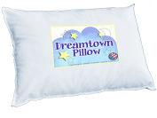 Dreamtown Kids Toddler Pillow. 14X19, Quality Stitching, Hypoallergenic. Perfect For Sleeping In Bed, Crib, Daycare, Or Carseat.