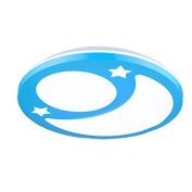 LED Moon Star Kids Room Ceiling Lamp Creative Cartoon Baby Room Ceiling Lights Child Bedroom Ceiling Light Fixture