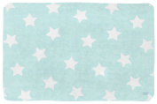 Lottas Lable Softie Children's Rug with Star Design Turquoise 70 x 100 cm