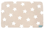 Lottas Lable Softie Children's Rug with Star Design Beige 70 x 100 cm