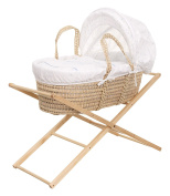 Obaby Hello Little One Moses Basket and Folding Stand