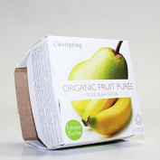 Clearspring | Pear & Banana Organic Puree | 12 x 2x100g