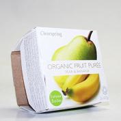 Clearspring | Pear & Banana Organic Puree | 12 x 2x100g