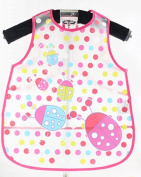 Unisex Baby Waterproof Drooler Bib Eat and Play Smock Toddler Apron of PEVA