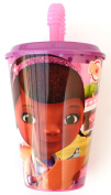 Doc McStuffins Cup with Straw