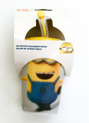3D Minions cup with lid and straw - despicable me