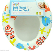 Toilet Trainer Seat Childrens Soft Toilet Seat Padded Toddler Toilet Seat New