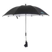 IntiPal Stroller Buggy Pram Parasol Umbrella - Fits Most Prams and Buggies - Protects Babies and Infants from UV Rays