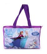 Disney Frozen Kids Hand Bag Beach Bag Purple ' Sisters Forever