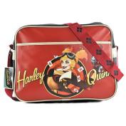 Batman Harley Quinn Retro Bag DC Comics Shoulder Bag Red Black 37.5x27.5x13.5cm