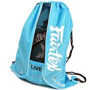 Fairtex Blue Mesh Bag