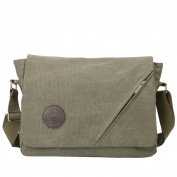 Eshow Men's Retro Canvas Cross Body Messenger Bag