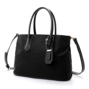 Lawevan It Bags Collection Women Ladies Canvas Tote Bags Shoulder Bags Black
