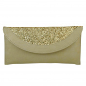 Faux Leather Clutch Sling Party Women Fashion Shoulder Hand Bag Purse