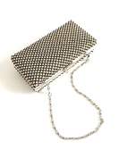 Deco clutch bag with beads