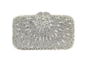 Yilongsheng Dazzling Ladies Evening Bags with Scattering Beaded Crystal Diamonds