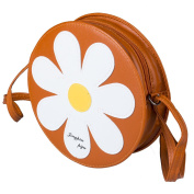 Women Girls Sunflower Print Small Cross Body Bag Messenger Shoulder Bag