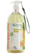 Orange natural shampoo