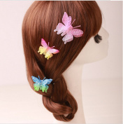 Cuhair(tm) 6pcs Wedding party Princess Butterfly Hair Clip Hair Pin Accessories for Women Girl